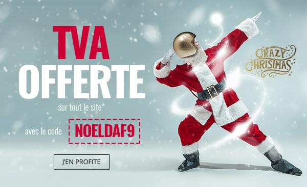 Dafy Moto Le Père Noël Offre La Tva Calendrier De Lavent